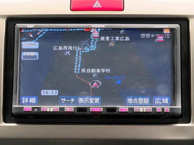G エアロ イクリプス製HDDナビ ワンセグTV ETC(8枚目)