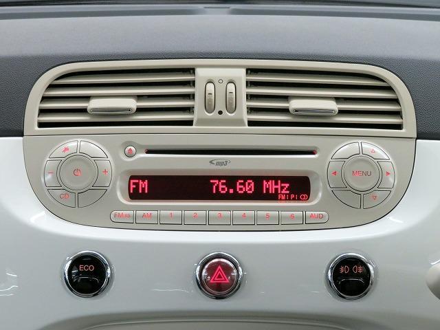 ■FIATオリジナル FM+AM電子チューナー付CDプレーヤー/音楽等をお楽しみください!