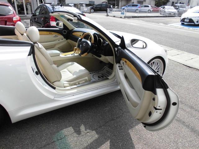 「レクサス」「SC」「オープンカー」「岡山県」の中古車25