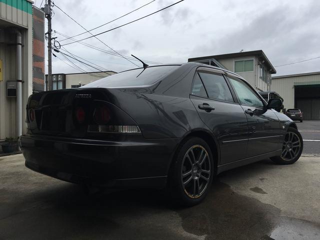トヨタ アルテッツァ RS200Zエディション Tベル交換済 社外17inアルミ