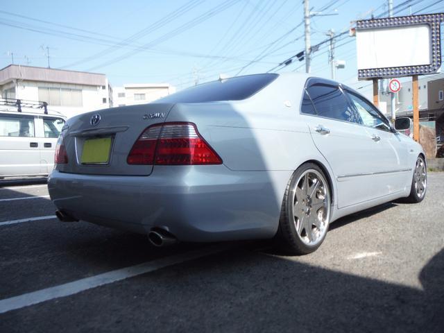 トヨタ クラウン ロイヤルサルーン 車高調 HDDナビ ETC