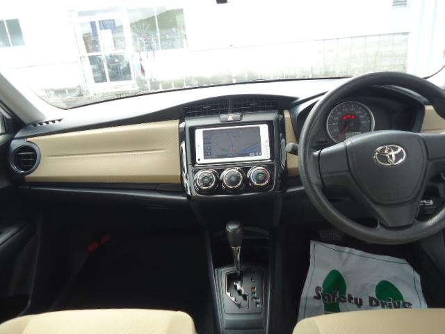 トヨタ カローラアクシオ 1.5X ナビ・バックモニター・ETC