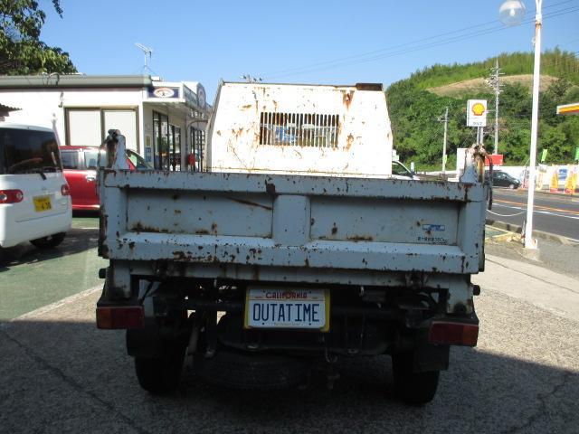 ダイハツ ハイゼットトラック ダンプ・取説・4WD・積載量350キロ