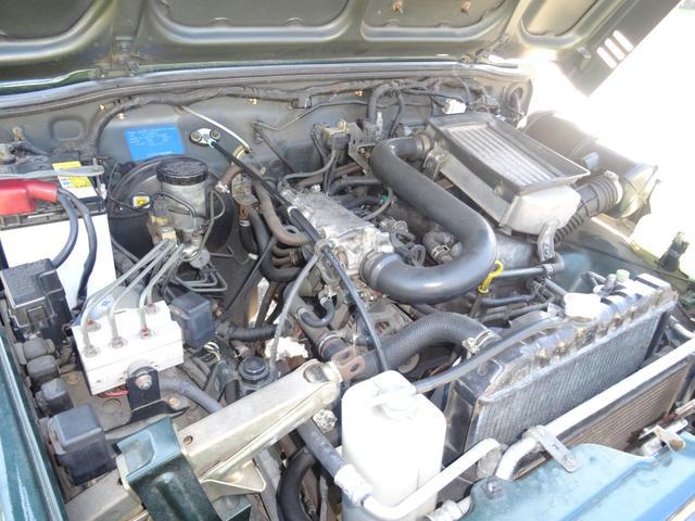 XC JA22最終モデル 5MT 4WD 4インチリフトアップ TOYOオープンカントリーMTタイヤ オートルビーズバンパー&タンクガード 修復歴無し(15枚目)