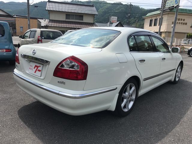 「日産」「シーマ」「セダン」「広島県」の中古車4