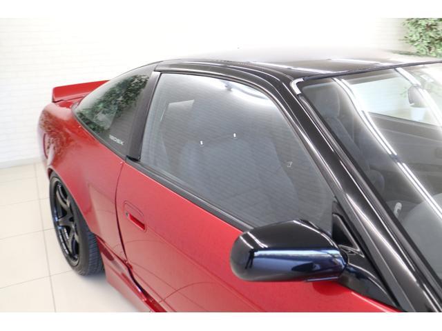 タイプX スーパーハイキャスパッケージ シルエイティ・ロケバニエアロ・ブリスターフェンダー・レイズ18インチアルミ・前置IC・車高調・7点ロールバー・3層ラジエーター・LSD・社外マフラー(27枚目)