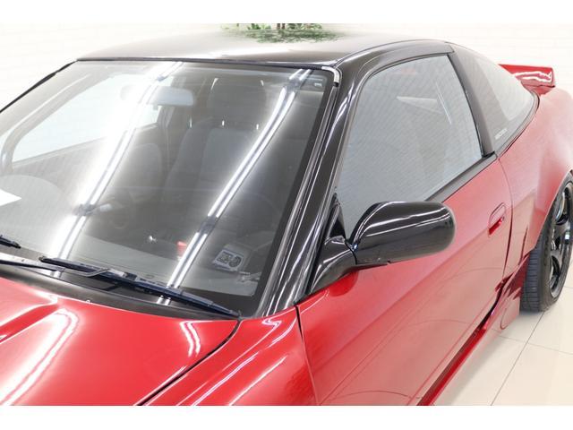 タイプX スーパーハイキャスパッケージ シルエイティ・ロケバニエアロ・ブリスターフェンダー・レイズ18インチアルミ・前置IC・車高調・7点ロールバー・3層ラジエーター・LSD・社外マフラー(28枚目)