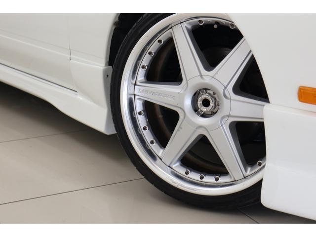 タイプX ターボ サンルーフ 車高調 フルエアロ レーシングハート18インチ 社外マフラー ブリッツブローオフ(16枚目)
