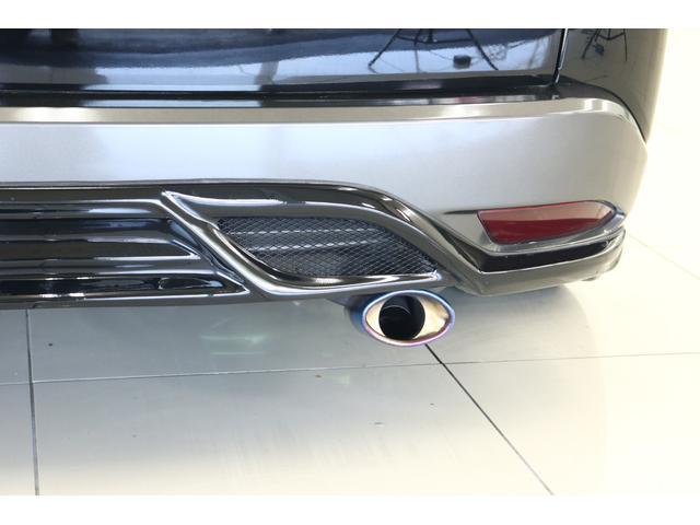 ハイブリッドX 車高調 フルエアロ 社外19インチアルミ 社外マフラー 8インチナビ TV フリップダウンモニター バックカメラ(36枚目)