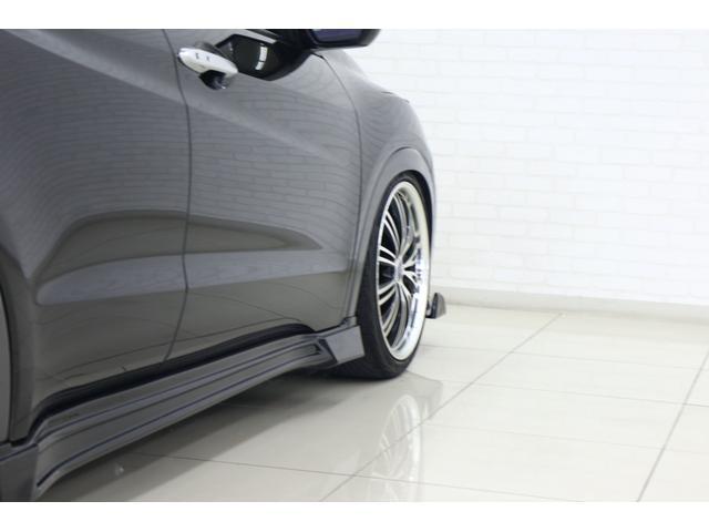 ハイブリッドX 車高調 フルエアロ 社外19インチアルミ 社外マフラー 8インチナビ TV フリップダウンモニター バックカメラ(38枚目)