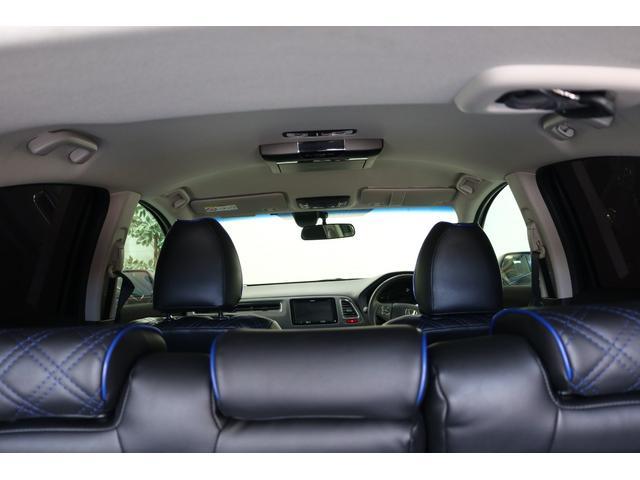 ハイブリッドX 車高調 フルエアロ 社外19インチアルミ 社外マフラー 8インチナビ TV フリップダウンモニター バックカメラ(47枚目)