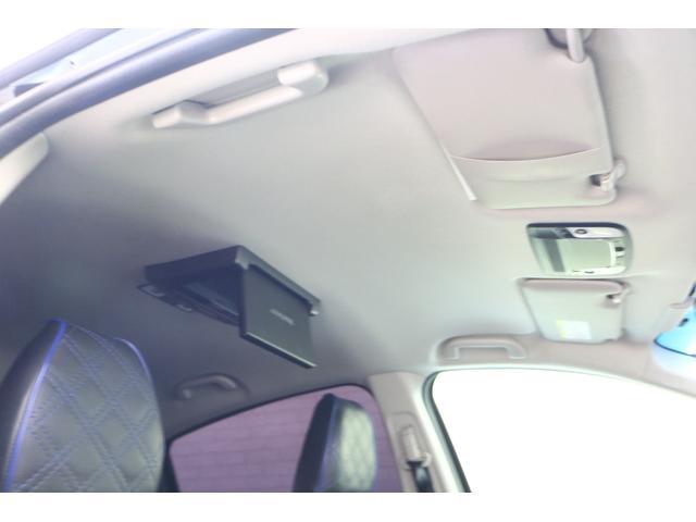 ハイブリッドX 車高調 フルエアロ 社外19インチアルミ 社外マフラー 8インチナビ TV フリップダウンモニター バックカメラ(73枚目)