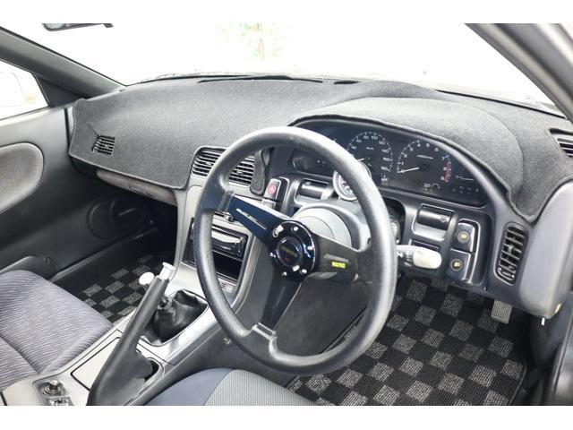 ターボE/G載替 前置きインタークーラー BLITZマフラー WORK18インチアルミ 車高調 オイルクーラー HKSエアクリーナー 社外ラジエータ エキマニ(8枚目)