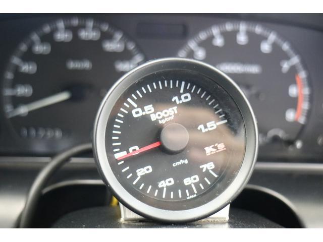 ターボE/G載替 前置きインタークーラー BLITZマフラー WORK18インチアルミ 車高調 オイルクーラー HKSエアクリーナー 社外ラジエータ エキマニ(12枚目)