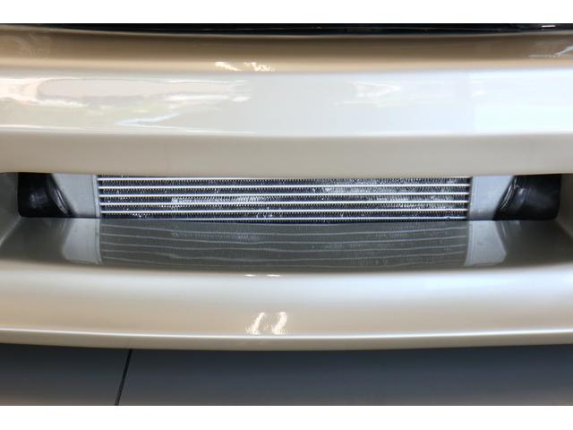 ターボE/G載替 前置きインタークーラー BLITZマフラー WORK18インチアルミ 車高調 オイルクーラー HKSエアクリーナー 社外ラジエータ エキマニ(22枚目)