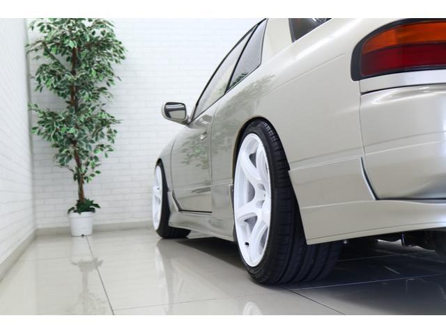 ターボE/G載替 前置きインタークーラー BLITZマフラー WORK18インチアルミ 車高調 オイルクーラー HKSエアクリーナー 社外ラジエータ エキマニ(41枚目)