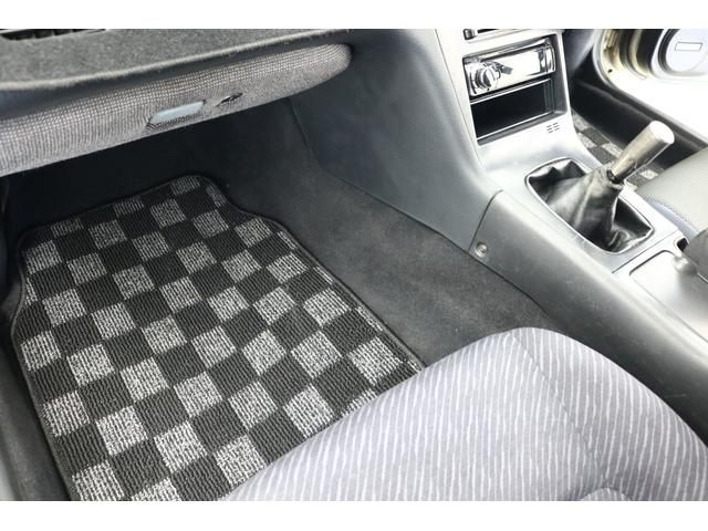 ターボE/G載替 前置きインタークーラー BLITZマフラー WORK18インチアルミ 車高調 オイルクーラー HKSエアクリーナー 社外ラジエータ エキマニ(65枚目)
