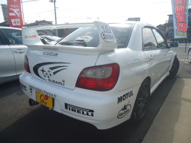 WRX STi 6MT モンテカルロラリーマネキン仕様(2枚目)