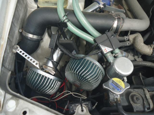 ツアラーV 5MT ツインターボ サンルーフ 社外エアロ 社外アルミ ローダウン 社外フルバケットシート 社外ヘッドライト 社外ステアリング ETC(23枚目)