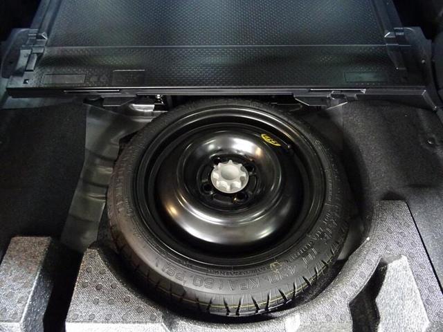 スペアタイヤ装備