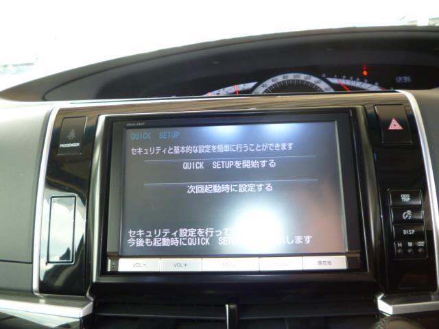 トヨタ エスティマ アエラス プレミアムエディション8インチTCナビ後席モニター