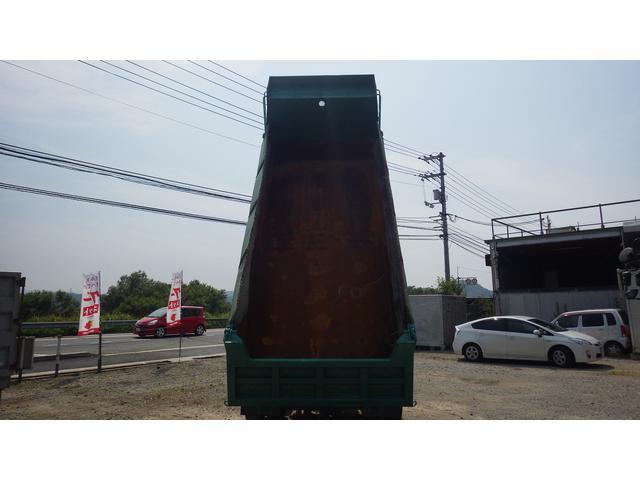 日野 プロフィア テラピー大型ダンプ