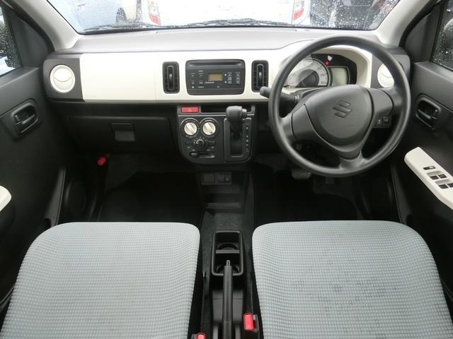 スズキ アルト L アイドリングストップ・運転席シートヒーター・CD