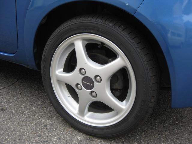 ガソリンB フロアオートマ ローダウン 14アルミホイル キーレス CD ETC LEDヘッドライト タイミングチェーン PS PW エアコン フル装備 室内清掃 2人乗り(21枚目)