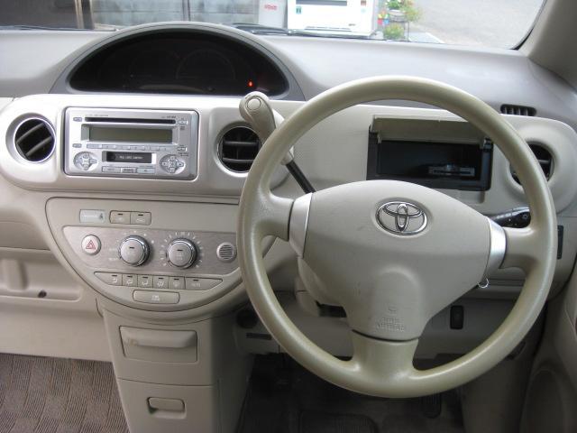 トヨタ ポルテ 130i Cパッケージ 左電動スライド ローダウン ETC