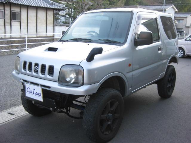 XL 4WD リフトアップ 16ホイル 外マフラー ETC(10枚目)