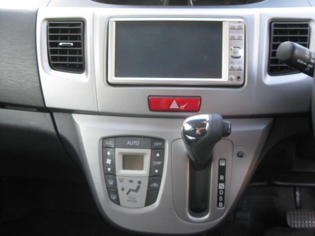 カスタム G 4WD キーフリー タイミングチェーン ナビ フルセグTV DVD再生可 CD ETC プッシュスタート タイヤ4本新品交換 HIDライト フル装備 オートエアコン 室内清掃(10枚目)