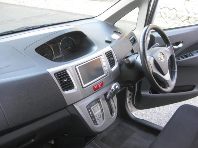 カスタム G 4WD キーフリー タイミングチェーン ナビ フルセグTV DVD再生可 CD ETC プッシュスタート タイヤ4本新品交換 HIDライト フル装備 オートエアコン 室内清掃(21枚目)