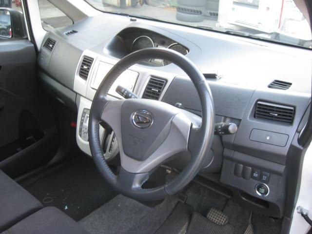 カスタム G 4WD キーフリー タイミングチェーン ナビ フルセグTV DVD再生可 CD ETC プッシュスタート タイヤ4本新品交換 HIDライト フル装備 オートエアコン 室内清掃(22枚目)