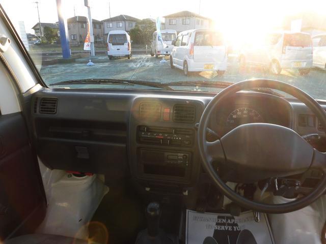 KCエアコン・パワステ エアコン パワステ エアバック 5MT 2WD ドライブレコーダー ETC ワンオーナー(14枚目)