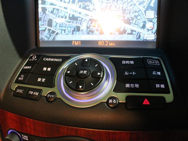 370GT タイプSP フルオリジナルコンディション純正HDDナビ Bモニター サイドモニター ブラウンレザーシート 純正19AW スマートキー パドルシフト HID シートヒーター(44枚目)
