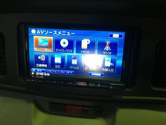 ダイハツ アトレーワゴン カスタムターボR HDDナビ フルセグTV ETC 外アルミ