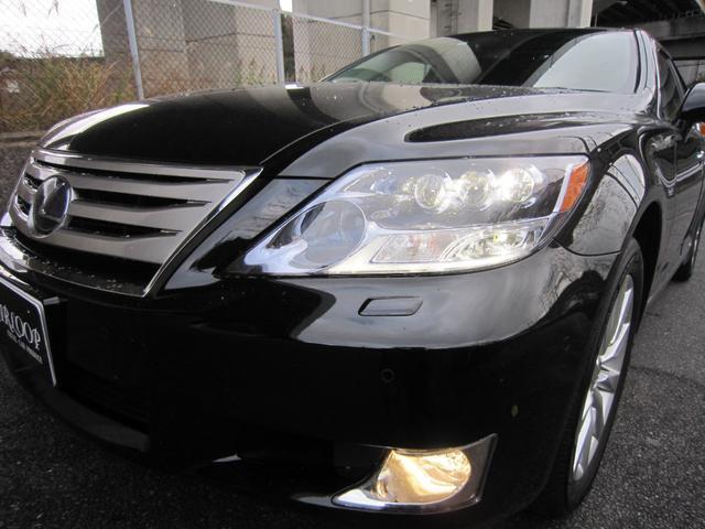 レクサス LS LS600hL 黒革 サンルーフ HDDマルチ 後席モニター