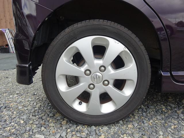 純正14インチアルミ タイヤ溝あります