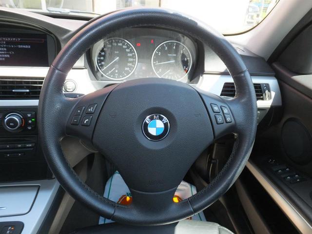 BMW BMW 320iツーリング 本革シート 純正HDDナビ ETC
