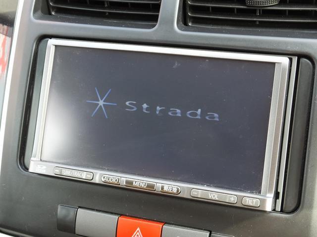 ダイハツ ミラ X ストラーダSDナビ ワンセグテレビ ETC キーレス