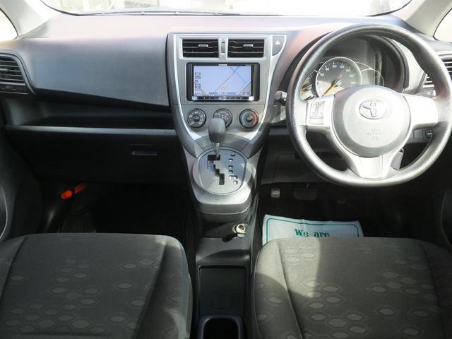 トヨタ ラクティス Xウェルキャブ 車いす仕様車Iリア席付 ナビ キーレス