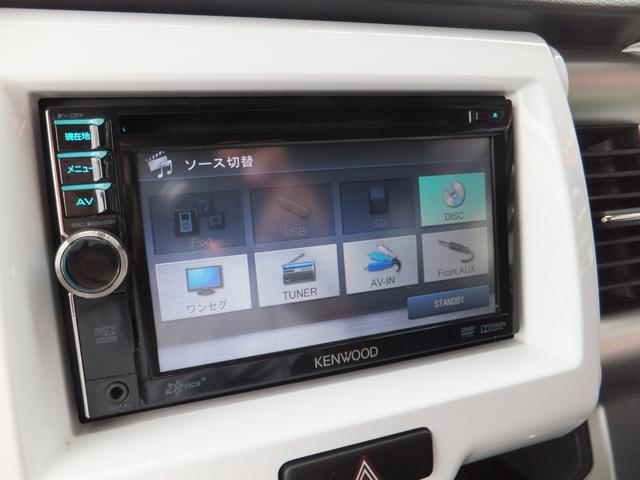 Gターボ レーダーブレーキ 社外ナビ 地デジ ETC スマートキー プッシュスタート HIDオートライト オートエアコン アイドリングストップ(7枚目)