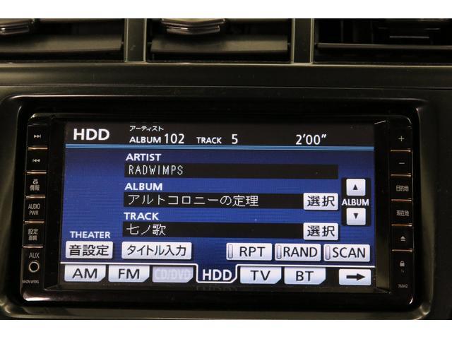 トヨタ プリウスアルファ Gチューン 7人乗 HDDナビ ハーフレザー HV1年保証付