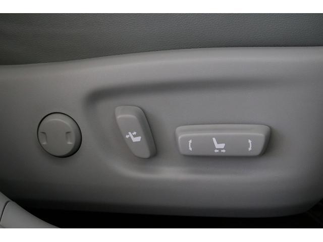 そして運転席はパワーシートになりました。後期型から上級グレードの装備がとても良くなりましたね。