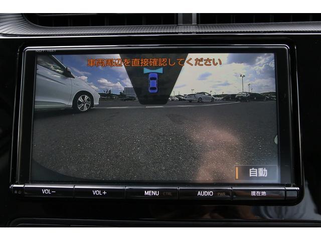 アクアにはなかなか珍しい純正フロントカメラ付きですので見通しの悪い交差点や狭い駐車場も安心です。