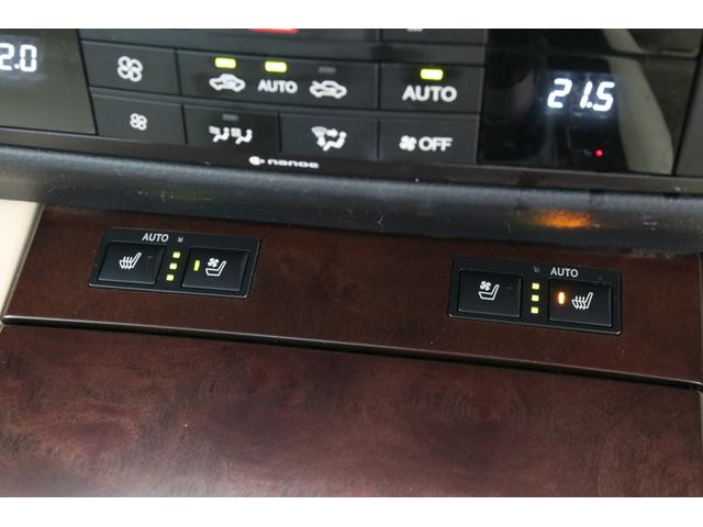シートヒーターとベンチレーションは3段階で温度設定が可能ですのでどの季節でも快適ですね。さすが高級車!素晴らしい!