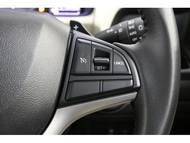 ハイブリッドMZにはクルーズコントロールも装備されていますので、高速道路での走行時に疲労が少なくなりますよ。