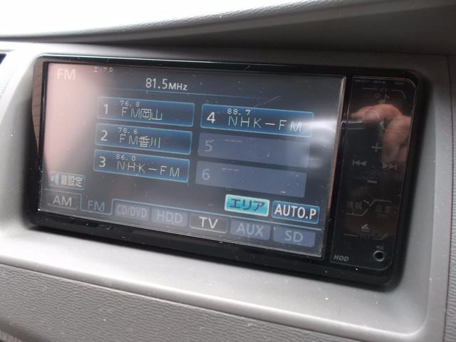 トヨタ アイシス プラタナLTD 純正ナビ 両側パワスラ 後期 全国ロング保証