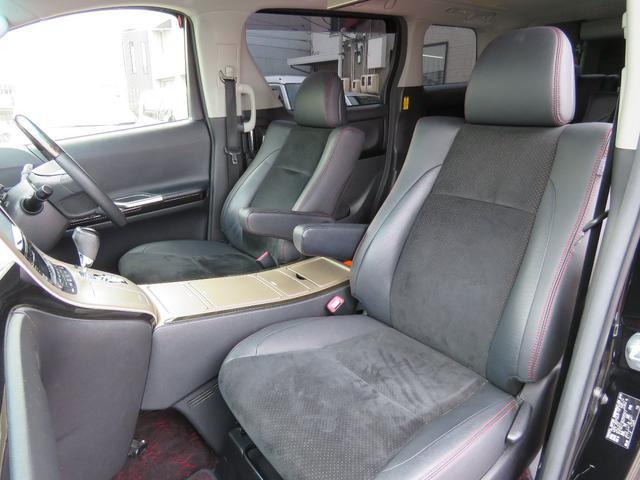トヨタ ヴェルファイア 2.4Z ゴールデンアイズ サンルーフ 9インチナビ