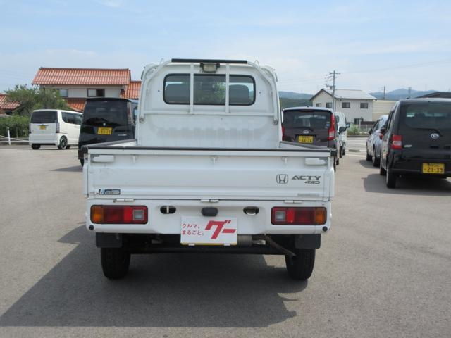 4WD 5速MT エアコン パワステ 荷台マット ラジオ(5枚目)